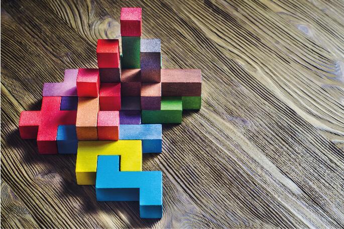 Bausteine, die die Flexibilität bei immitec Lager symbolisieren © radachynskyi #120516081 - stock.adobe.com
